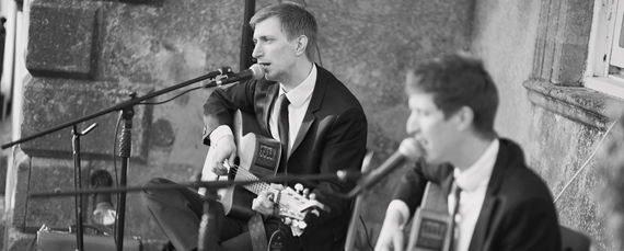 acoustic duo for weddings in Bristol