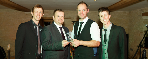 South West regional winner the wedding awards