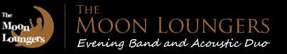 moon loungers evening band and acoustic duo logo