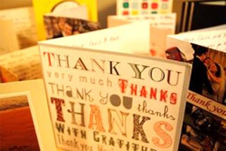 the moon loungers thank you cards