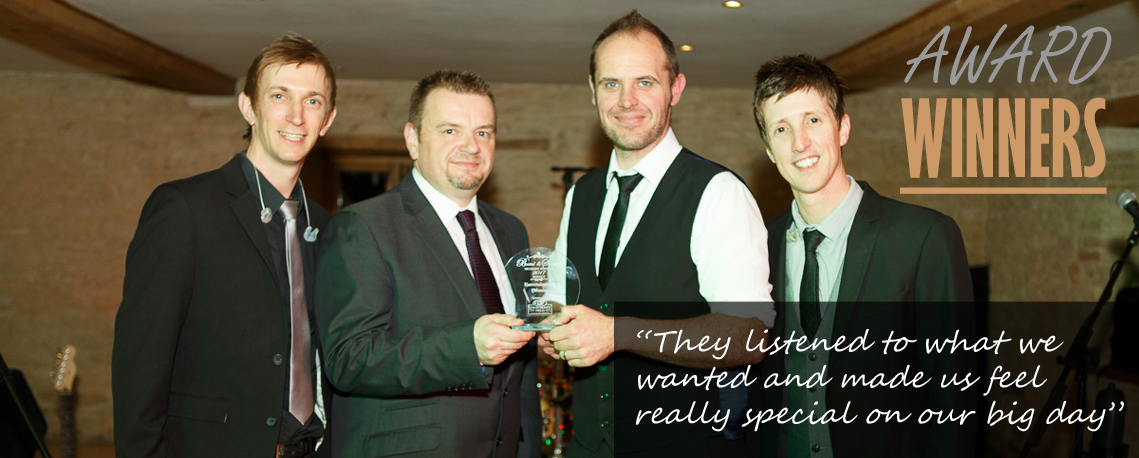 wedding awards south west band winners